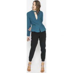 Pepe Jeans - Koszula Cori. Szare koszule jeansowe damskie marki Pepe Jeans, l, casualowe, z długim rękawem. W wyprzedaży za 199,90 zł.