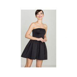 Sukienka K223 Czarny. Niebieskie sukienki na komunię marki Reserved, z odkrytymi ramionami. Za 129,00 zł.