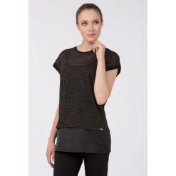 Bluzki damskie: Wieczorowa bluzka z połyskiem