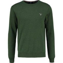 GANT CREW Sweter forest green. Zielone swetry klasyczne męskie GANT, m, z bawełny. Za 419,00 zł.
