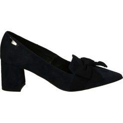 Czółenka - 2640 CAM BL24. Czarne buty ślubne damskie Venezia, ze skóry. Za 239,00 zł.
