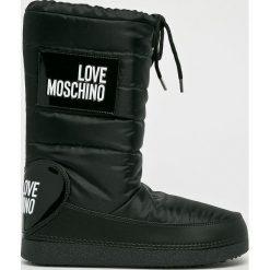 Buty zimowe damskie: Love Moschino - Śniegowce