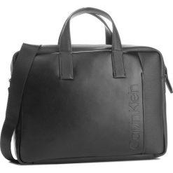 Torba na laptopa CALVIN KLEIN - Elevated Logo Slim Laptop Bag K50K503870 001. Czarne torby na laptopa marki Calvin Klein, ze skóry ekologicznej. Za 649,00 zł.