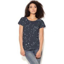 Colour Pleasure Koszulka damska CP-034  43 czarno-biała r. XL-XXL. Bluzki asymetryczne Colour pleasure, xl. Za 70,35 zł.