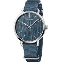 ZEGAREK CALVIN KLEIN Even K7B211WL. Niebieskie zegarki męskie marki Calvin Klein, szklane. Za 1059,00 zł.