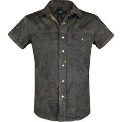 Black Premium by EMP Hard Decisions Koszula kamuflaż. Czarne koszule męskie na spinki marki Black Premium by EMP. Za 224,90 zł.