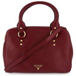 Guess Torebka Damska Burgund. Czerwone torebki klasyczne damskie marki Guess, z aplikacjami. Za 1159,00 zł.