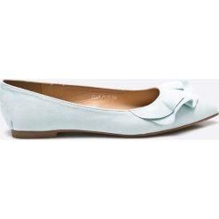 Answear - Baleriny Bellucci. Szare baleriny damskie marki ANSWEAR, z gumy. W wyprzedaży za 39,90 zł.