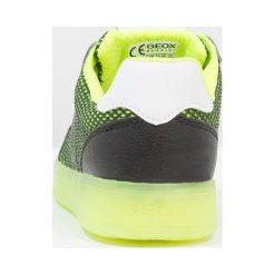 Geox KOMMODOR BOY NEW LIGHT PROJECT Tenisówki i Trampki black/lime. Czarne tenisówki męskie Geox, z materiału. Za 329,00 zł.