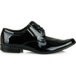 Buty wizytowe męskie: Lakierowane buty wizytowe CHARLIE