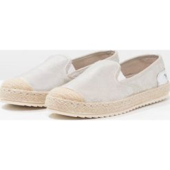 Tomsy damskie: Mustang Espadryle ivory/silver