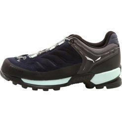 Salewa WS MTN TRAINER Buty wspinaczkowe premium navy/subtle green. Niebieskie buty sportowe damskie Salewa, z gumy, sportowe. Za 719,00 zł.
