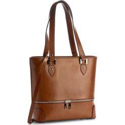 Torebka CREOLE - K10350 Koniak. Brązowe torebki klasyczne damskie Creole, ze skóry, duże. W wyprzedaży za 219,00 zł.