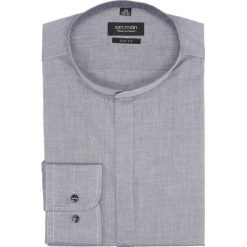 Koszula bexley 2443 długi rękaw slim fit granatowy. Niebieskie koszule męskie slim Recman, m, z długim rękawem. Za 149,00 zł.