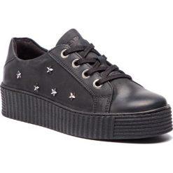 Sneakersy SERGIO BARDI - Bianzone FW127357318CC 401. Czarne sneakersy damskie Sergio Bardi, z materiału. W wyprzedaży za 169,00 zł.