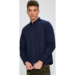 Dickies - Koszula. Czarne koszule męskie na spinki Dickies, m, z bawełny, z klasycznym kołnierzykiem, z długim rękawem. W wyprzedaży za 129,90 zł.
