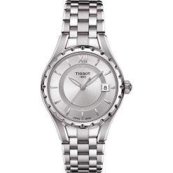 PROMOCJA ZEGAREK TISSOT T- LADY T072.210.11.038.00. Szare, analogowe zegarki damskie TISSOT, ze stali. W wyprzedaży za 1566,40 zł.