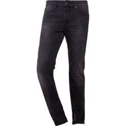 BOSS CASUAL DELAWARE Jeansy Slim Fit black. Czarne jeansy męskie relaxed fit BOSS Casual, z bawełny. Za 509,00 zł.