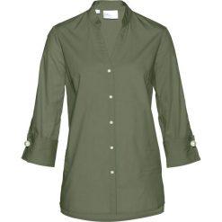 Tuniki damskie eleganckie: Tunika bluzkowa bonprix oliwkowy