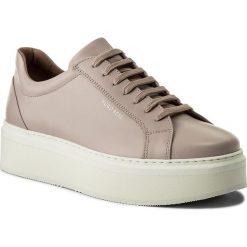 Sneakersy BOSS - Nora 50386442 10201909 01 Light/Pastel Pink 681. Czerwone sneakersy damskie Boss, ze skóry. W wyprzedaży za 639,00 zł.