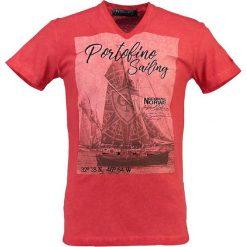 """T-shirty męskie z nadrukiem: Koszulka """"JeanPaul"""" w kolorze czerwonym"""