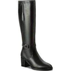 Kozaki TAMARIS - 1-25539-29 Black 001. Czarne buty zimowe damskie marki Tamaris, z polaru, na obcasie. W wyprzedaży za 279,00 zł.
