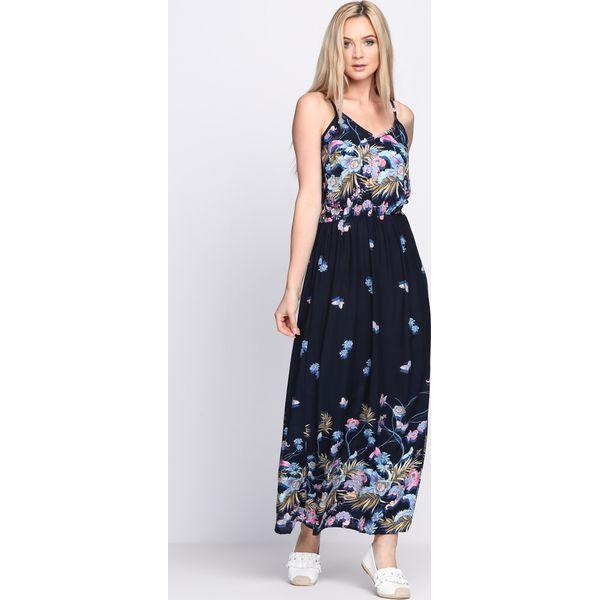0f1af9c808 Granatowa Sukienka Cream Rolls - Niebieskie sukienki damskie marki ...