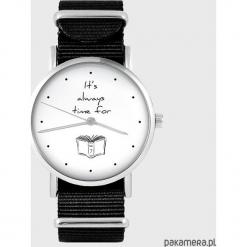 Zegarek - It is always time for... - czarny. Czarne zegarki męskie Pakamera. Za 129,00 zł.