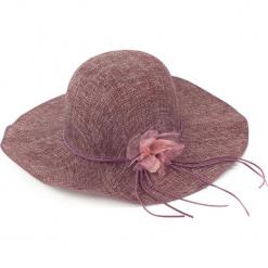Kapelusz damski Floral dream fioletowy. Fioletowe kapelusze damskie Art of Polo. Za 23,26 zł.