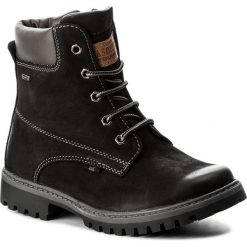 Trapery LASOCKI YOUNG - CI01-ASTERIX-02 Czarny. Czarne buty zimowe chłopięce Lasocki Young, z nubiku. Za 169,99 zł.