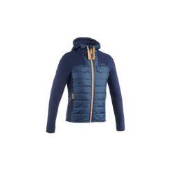 Swetry męskie: Sweter turystyczny z kapturem męski Arpenaz 600
