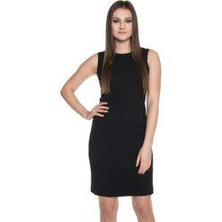 Sukienki: Czarna sukienka bez rękawów BIALCON