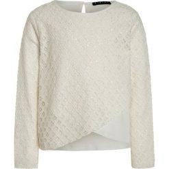 Bluzki dziewczęce bawełniane: Sisley BLOUSE Bluzka offwhite