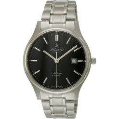Zegarek Atlantic Męski  Seabase 60347.41.61 Szafirowe szkło. Niebieskie zegarki męskie Atlantic, szklane. Za 852,99 zł.