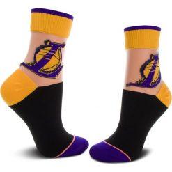 Skarpety Wysokie Damskie STANCE - Lakers Anklet W419C18LAK 35/42 Yellow. Żółte skarpetki damskie Stance, z elastanu. Za 79,00 zł.