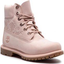"""Trapery TIMBERLAND - 6"""" Premium Boot W TB0A1TKON971 Różowy. Czerwone buty zimowe damskie Timberland, z gumy. W wyprzedaży za 569,00 zł."""