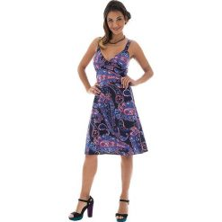 Odzież damska: Sukienka w kolorze fioletowym