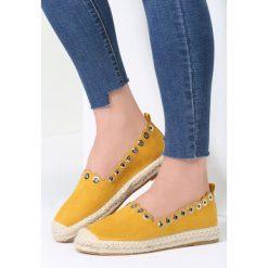 Żółte Espadryle This Is Love. Żółte espadryle damskie marki Born2be, moro, na płaskiej podeszwie. Za 59,99 zł.