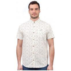 Brave Soul Koszula Męska Angle M Kremowy. Białe koszule męskie marki Brave Soul, m. W wyprzedaży za 48,00 zł.