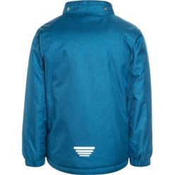 Outburst JUNGS Kurtka zimowa dunkelblau/lime. Niebieskie kurtki chłopięce przeciwdeszczowe Outburst, na zimę, z materiału. W wyprzedaży za 167,20 zł.