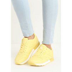Żółte Buty Sportowe Myron. Żółte buty sportowe damskie Born2be. Za 69,99 zł.