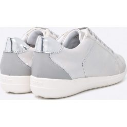 Geox - Buty. Szare buty sportowe damskie marki Geox, z materiału. W wyprzedaży za 239,90 zł.