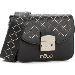 Torebka NOBO - NBAG-E0720-C020 Czarny. Czarne listonoszki damskie marki Nobo, ze skóry ekologicznej. W wyprzedaży za 119,00 zł.