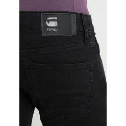 GStar 3301 DC SKINNY Jeans Skinny Fit hyto black superstretch/cobler dip wash. Czarne rurki męskie G-Star, z bawełny. Za 419,00 zł.