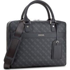 Torba na laptopa GUESS - Uptown Logo HM6210 POL74 Blu. Niebieskie plecaki męskie marki Guess, z aplikacjami. W wyprzedaży za 289,00 zł.