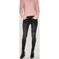 Medicine - Jeansy Secret Garden. Czarne jeansy damskie rurki MEDICINE, z bawełny. Za 139,90 zł.