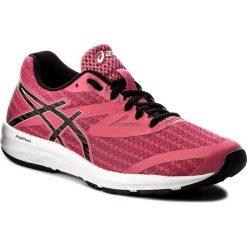 Buty ASICS - Amplica T875N Hot Pink/Black/White 2090. Czerwone buty do biegania damskie marki Asics, z materiału. W wyprzedaży za 199,00 zł.