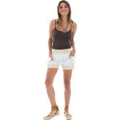 Odzież damska: Szorty w kolorze białym