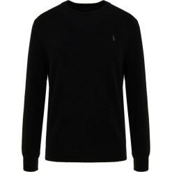 Polo Ralph Lauren LORYELLE Sweter polo black. Czarne swetry klasyczne męskie Polo Ralph Lauren, m, z materiału, polo. Za 669,00 zł.