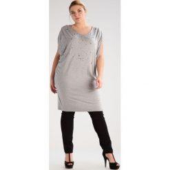 T-shirty damskie: ADIA Tshirt z nadrukiem light grey